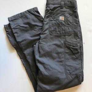 Carharrt relax fit pants 34X36 grey